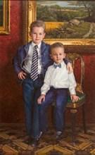 Портрет Александр и Даниил