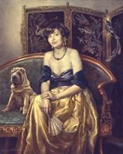 Портрет Наталии с шарпеем
