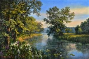 """""""Утро на реке"""""""